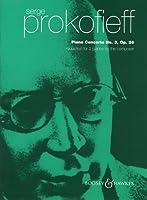 プロコフィエフ : ピアノ協奏曲 第3番 Op.26/ブージー & ホークス社/2台ピアノ用編曲