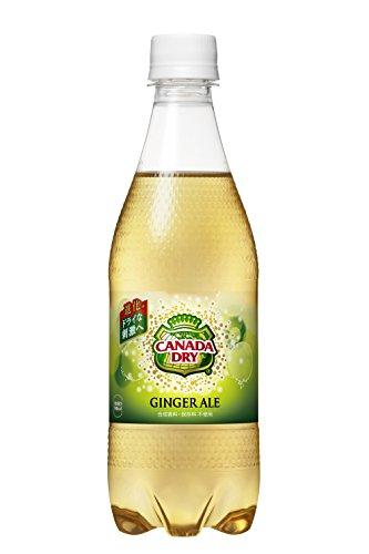 コカ・コーラ カナダドライ ジンジャーエール ペットボトル 500ml×24本
