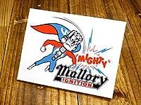 ステッカー 復刻 マロリー MALLORY MIGHTY_SC-DZ101-MON
