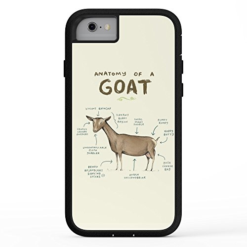 Society6 Anatomy Of A Goat Adventure Case iPhone 7