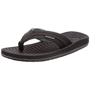[カスタム] サンダル 軽量 (EVAフッドベッド) [ AI208-500 / Quest Sandal ] おしゃれ 疲れにくい <メンズ> BLK_ブラック US 27 cm
