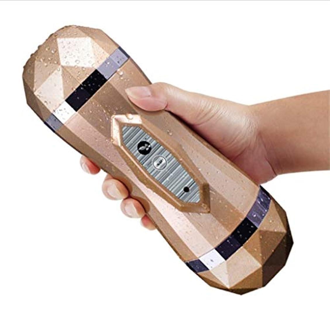 ビタミン大腿良さRisareyi 男性用自動電動オーラルカップ玩具玩具マルチ周波数バイブレーションモード2-in-1玩具振動ツール玩具エクステンダースリーブ