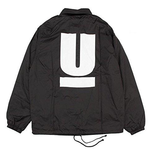 UNDERCOVER アンダーカバー ☆2016 COACH JACKET フルロゴ ブラック コーチジャケット[並行輸入品] (S)