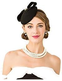 コンパクトヘッドドレス カチューシャタイプ 礼装帽子 トークハット トーク帽 ヘッドドレス