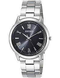 [セイコーセレクション]SEIKO SELECTION 腕時計 SEIKO SELCTION ソーラー ブラック文字盤 ローマ数字配置 10気圧防水 サファイアガラス SBPL011 メンズ