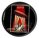 Amazon.co.jp【ノーブランド品】 缶バッジ ロック LED ZEPPELIN 直径38mm 裏ピン