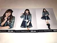 宮崎美穂 AKB48 月別生写真 2019 7月 July ② 3種コンプ 最新