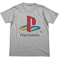 """プレイステーション 初代""""PlayStation"""" Tシャツ ヘザーグレー XLサイズ"""