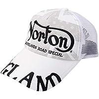 [ノートン] Norton 帽子 ペイズリー ユニオンジャック キャップ 191N8700