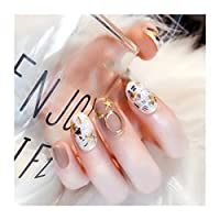 JSBF 光線療法爪、付け爪、環境ファッションスタイル (Color : 01)