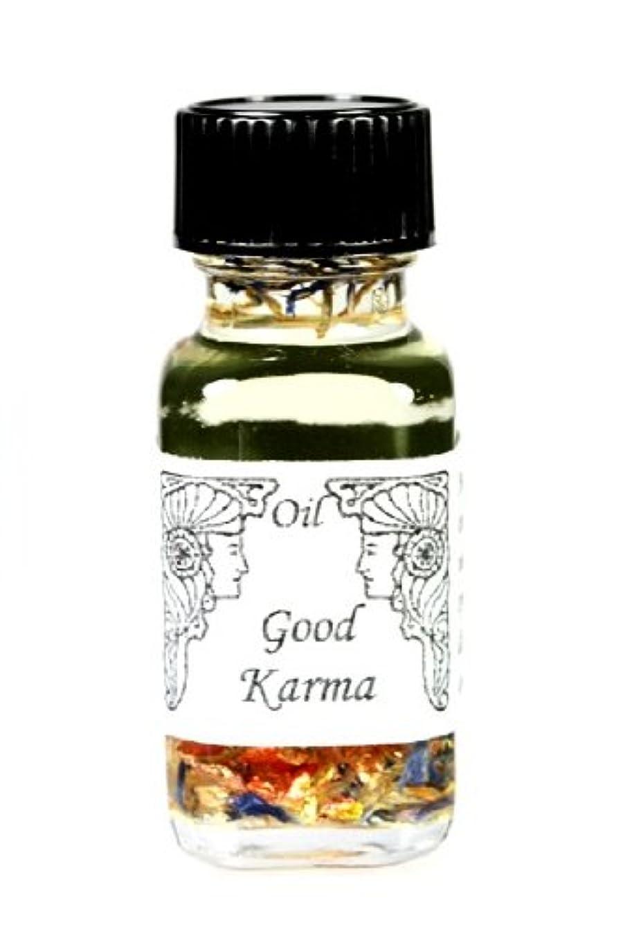 スワップ貢献するクッションアンシェントメモリーオイル Good Karma 【よいカルマを呼ぶ】自分がなれる最高の自分になる