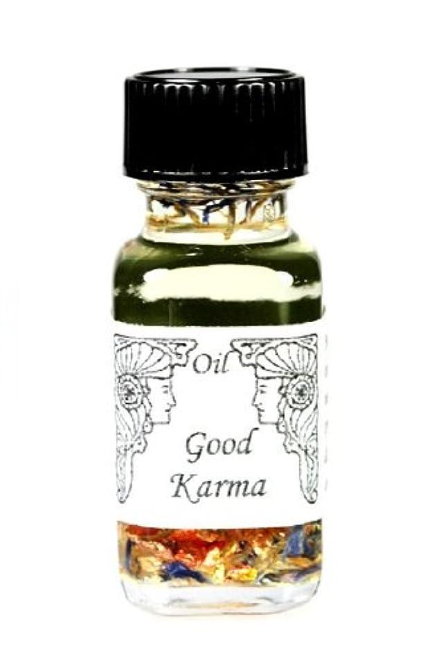 水平文隣接するアンシェントメモリーオイル Good Karma 【よいカルマを呼ぶ】自分がなれる最高の自分になる