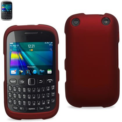 Reiko RPC10-BB9310RD Premium Rubberized Protective Cover for Blackberry Curve 9310 - Research In Motion - 1 Pack - Retail Packaging - Red [並行輸入品]