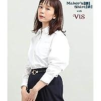 ビス(ViS) 【鎌倉シャツ×ViS】カシュクールシャツ