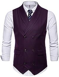 43c066547e7fa Amazon.co.jp  レッド - ベスト   トップス  服&ファッション小物