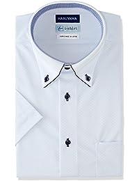 (はるやま) HARUYAMA i-shirt 完全ノーアイロン 半袖 ボタンダウンアイシャツ