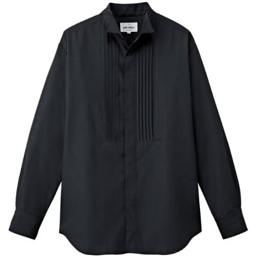 [チトセ]chitose【ウイングカラーシャツ】フォーマルにこの一枚《031-EP-7819》 (LL, C-10 ブラック)