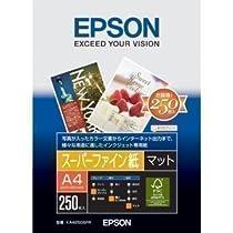 エプソン コピー用紙 エプソン純正スーパーファイン紙 250枚 A4 KA4250SFR