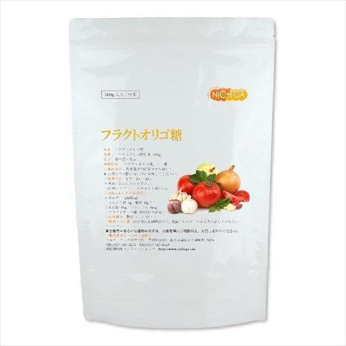 フラクトオリゴ糖 500g オリゴの王様 国内製造品(計量スプーン付)[01] NICHIGA(ニチガ)