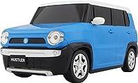 SUZUKI HUSTLER ラジコン 正規ライセンス品 ライト点灯 スズキ ハスラー ラジコン (ブルー)