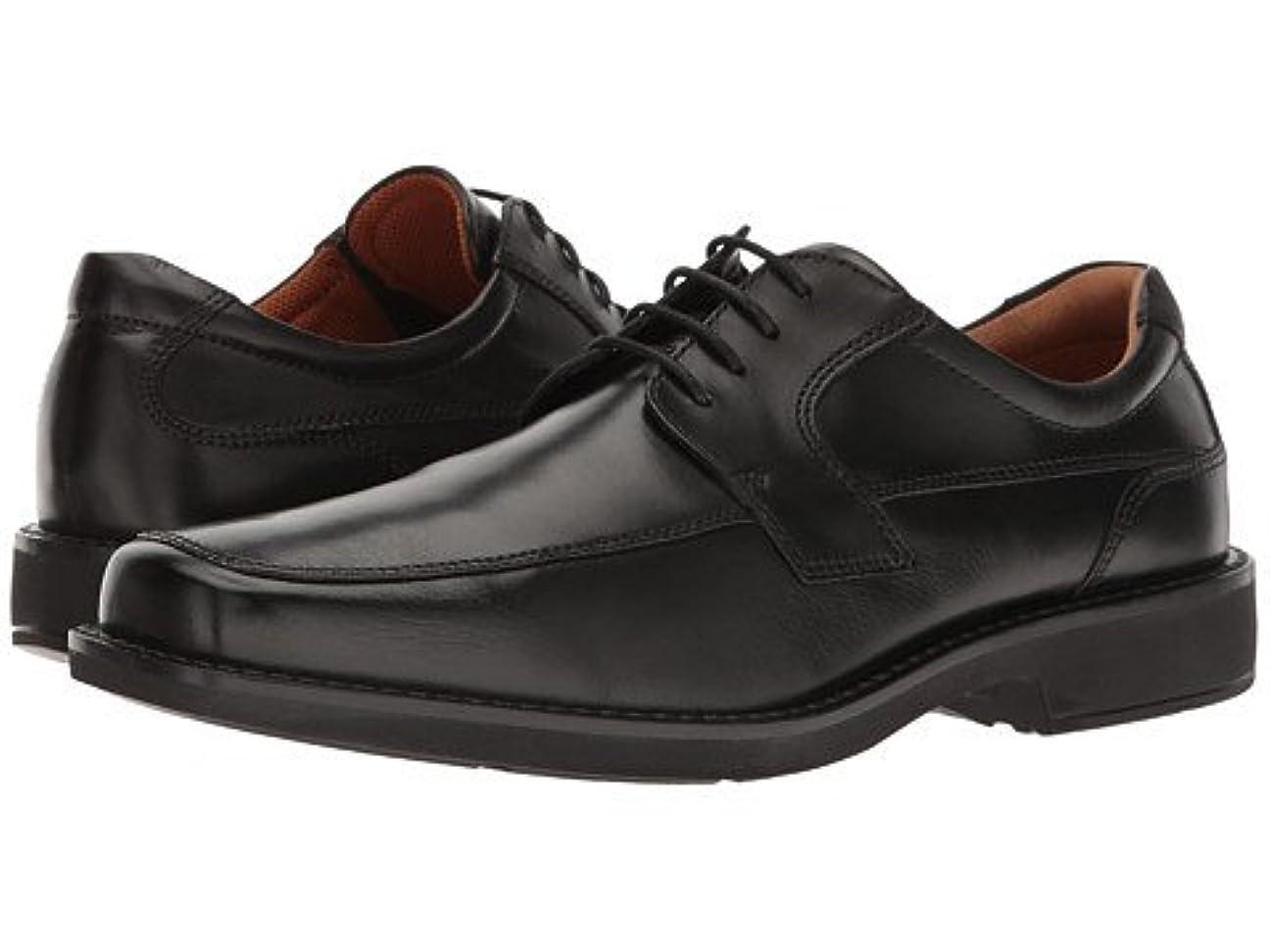有限歯車容赦ない(エコー) ECCO メンズオックスフォード?ビジネスシューズ?靴 Seattle Tie Black Cow Leather US Men's 8-8.5 26cm M [並行輸入品]