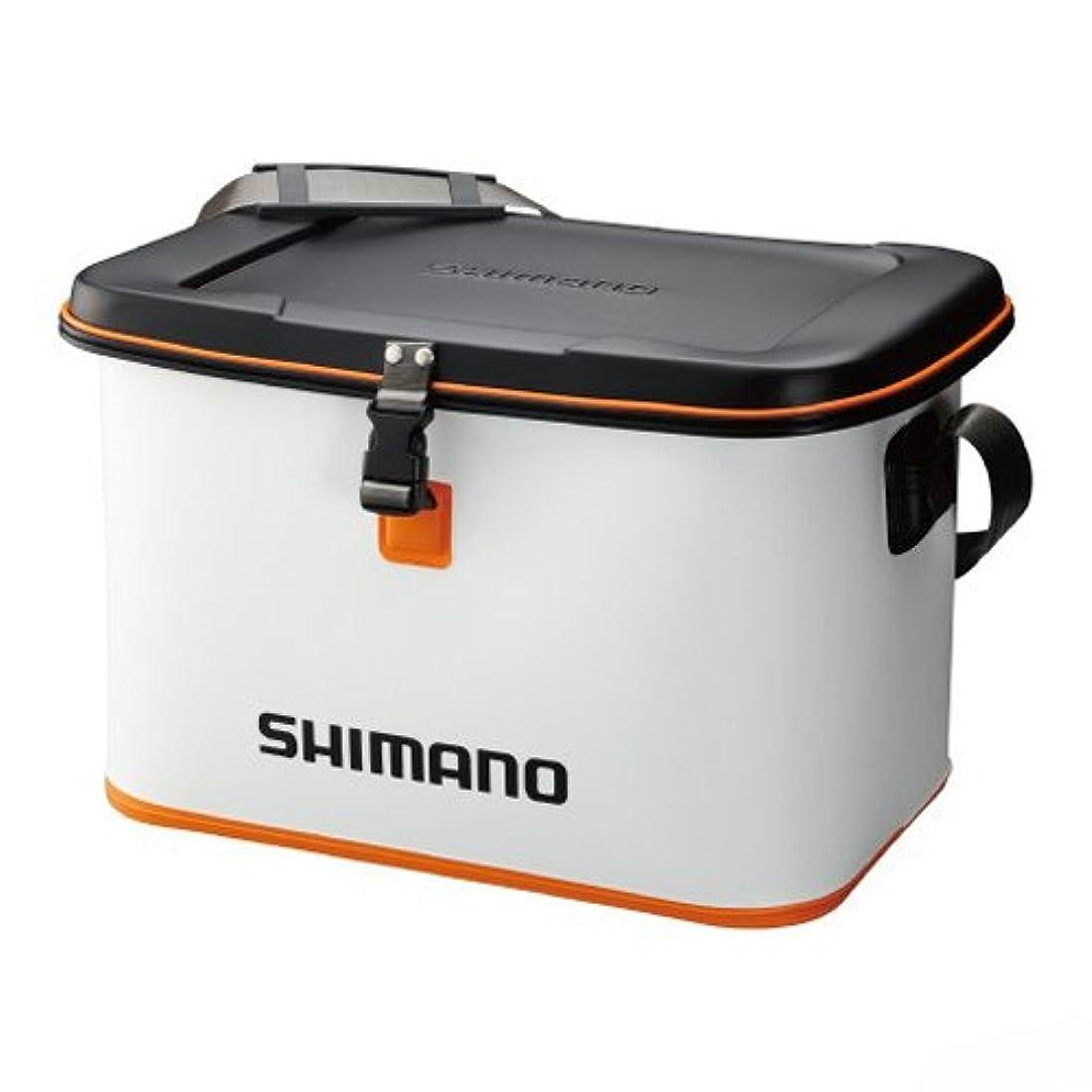 ピボット天国理想的にはシマノ EVA タックルバッグ (ハードタイプ) BK-061M ホワイト L