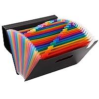 ドキュメントスタンド 24ポケット 自立型 書類 ファイル 整理 収納 分類用インデックス付