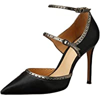 Nina Armando Women's Denny Stiletto Heel, Black with