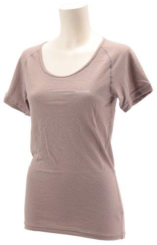 (モンベル)mont-bell ジオライン L.W. UネックTシャツ Women's 1107485 PKBG ピンクベージュ S