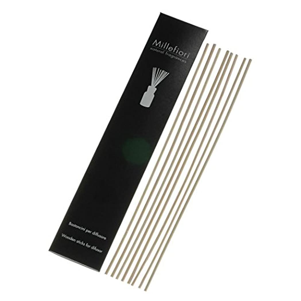 レシピ関係ないアイスクリームMillefiori Naturalシリーズ リードディフューザー Mサイズ用 交換用スティック STK-NM-002