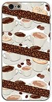 iPhone6 Plus アイフォン6 プラス アイフォーン6プラス ハード カバー ケース コーヒーとコーヒー豆