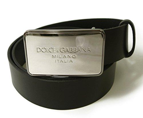 (ドルチェ&ガッバーナ) DOLCE&GABBANAベルト メンズ レザー (ブラック) BC3654 AC493 80999 DG-1561 [並行輸入品]