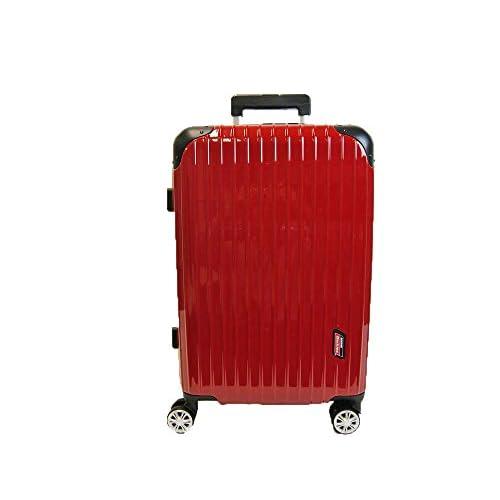 ディッキーズジッパーキャリーM55cm(レッド)4輪41L3.3kg2DK8-55H(05353)【Dickies】【TSA】【ABS・ポリカーボネート製】