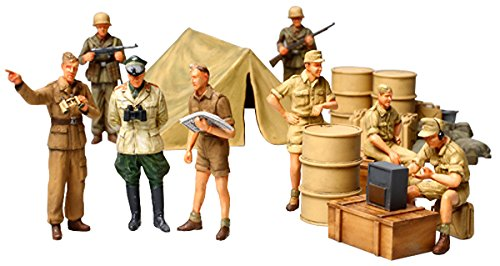 1/48 ミリタリーミニチュアシリーズ No.61 WWII ドイツ アフリカ軍団歩兵セット