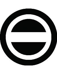 家紋シール 丸に一つ引き紋 布タイプ 直径40mm 6枚セット NS4-0416