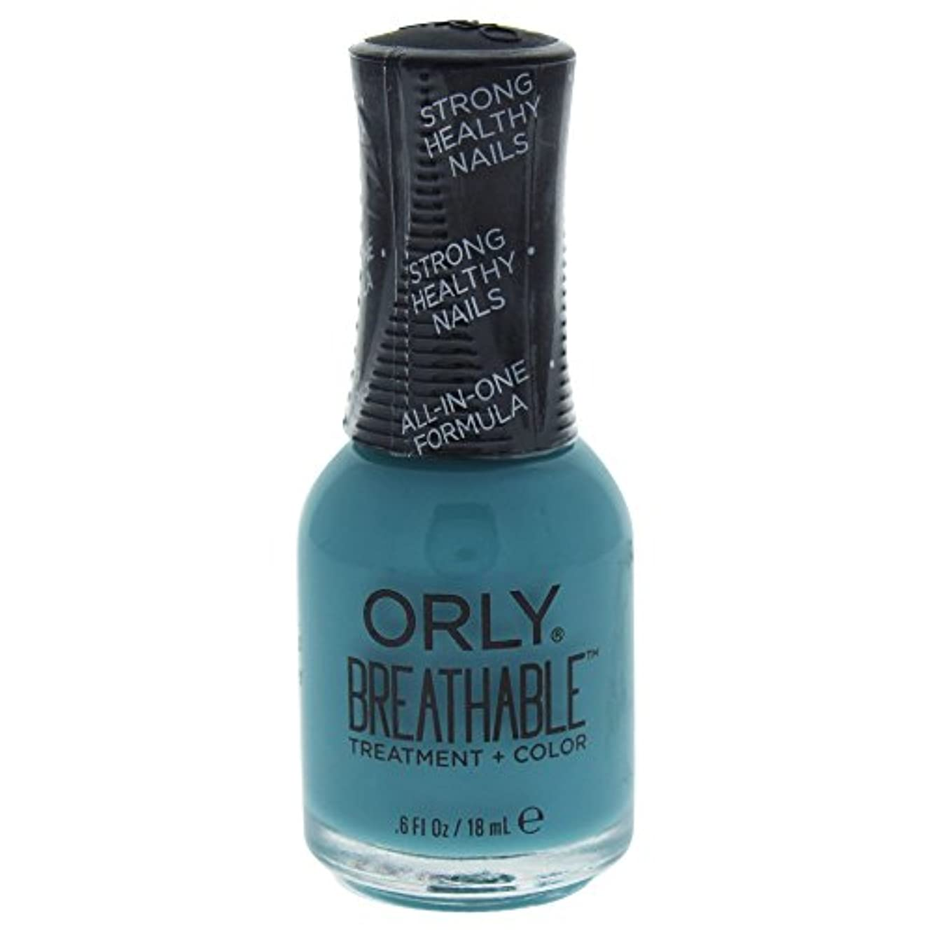 のぞき見一見パネルOrly Breathable Treatment + Color Nail Lacquer - Morning Mantra - 0.6oz / 18ml