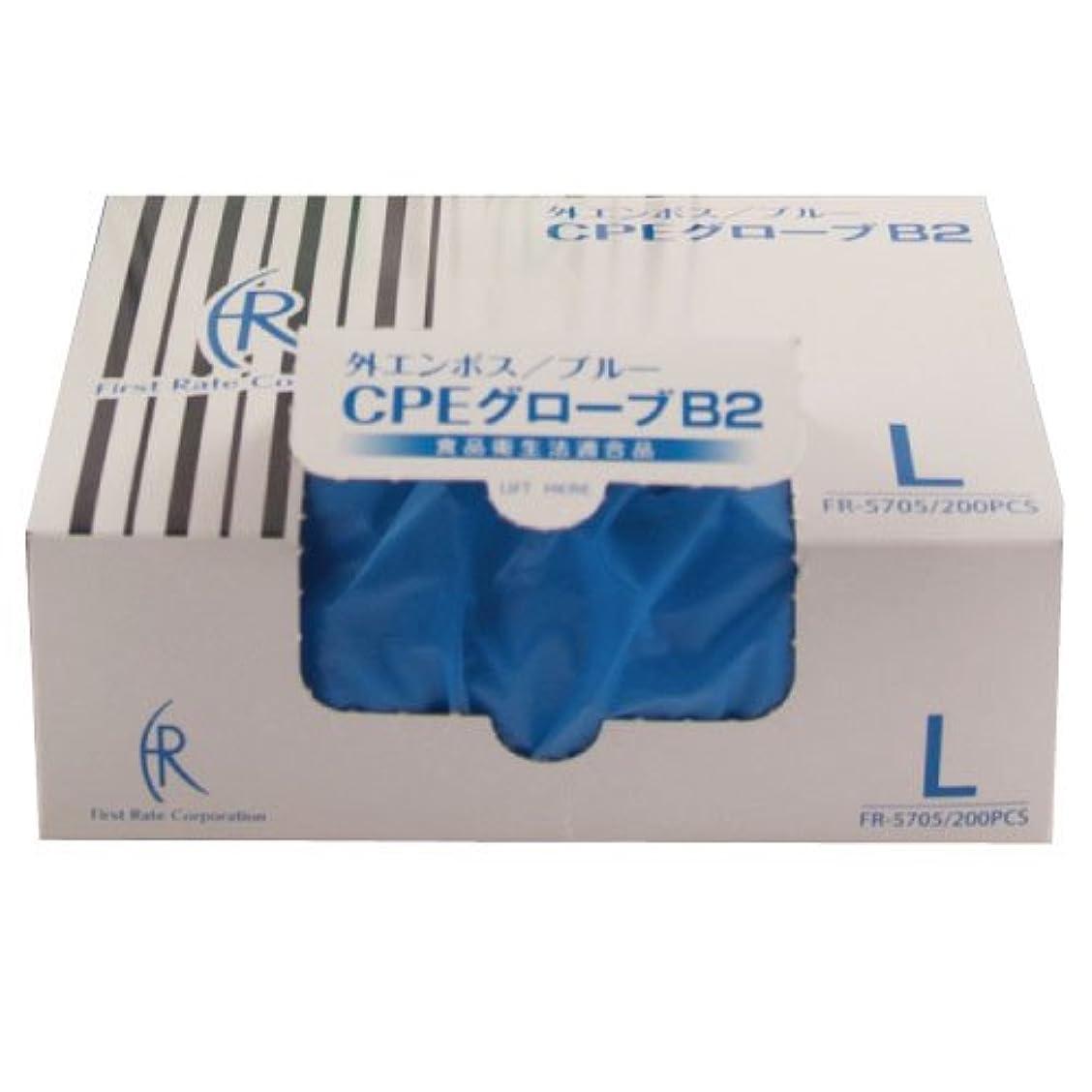 はねかけるキュービック粉砕するファーストレイト CPEグローブ2(ブルー) FR-5705(L)200マイイリ