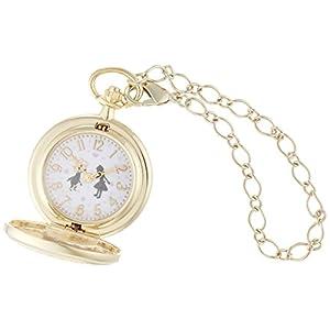 [フィールドワーク]Fieldwork 懐中時計 キーチェーンウォッチ ラーンド アナログ表示 蓋付き ゴールド ASS099-2