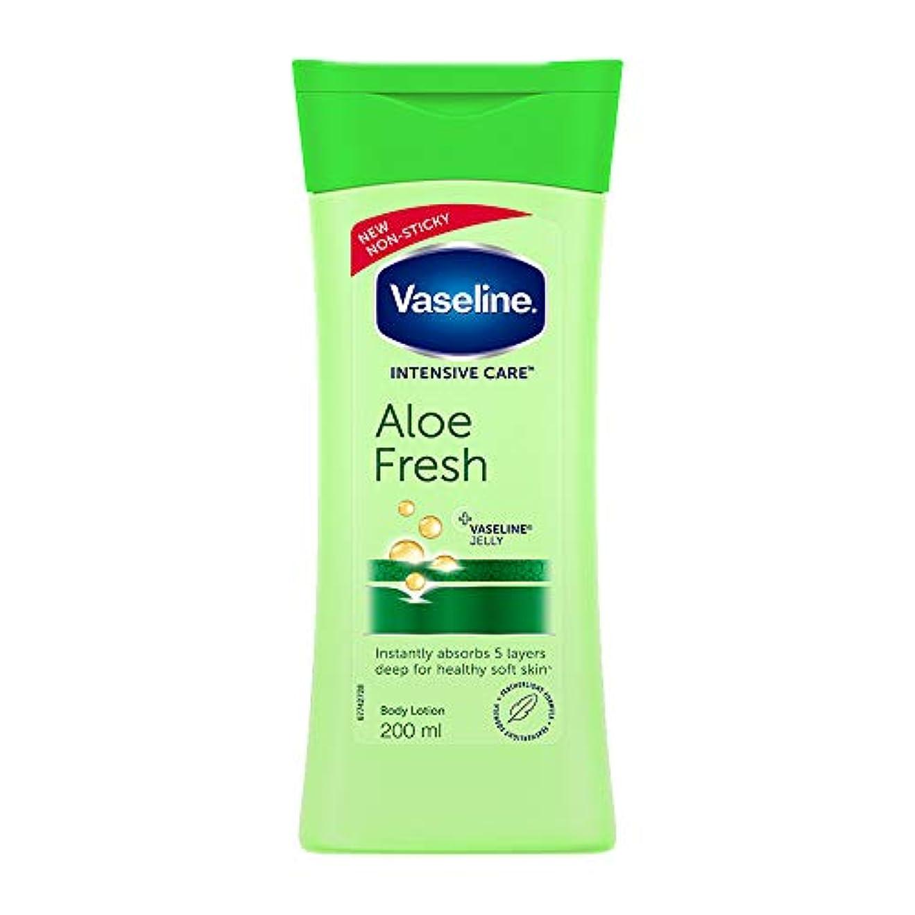 コード全く以降Vaseline Intensive Care Aloe Fresh Body Lotion, 200 ml