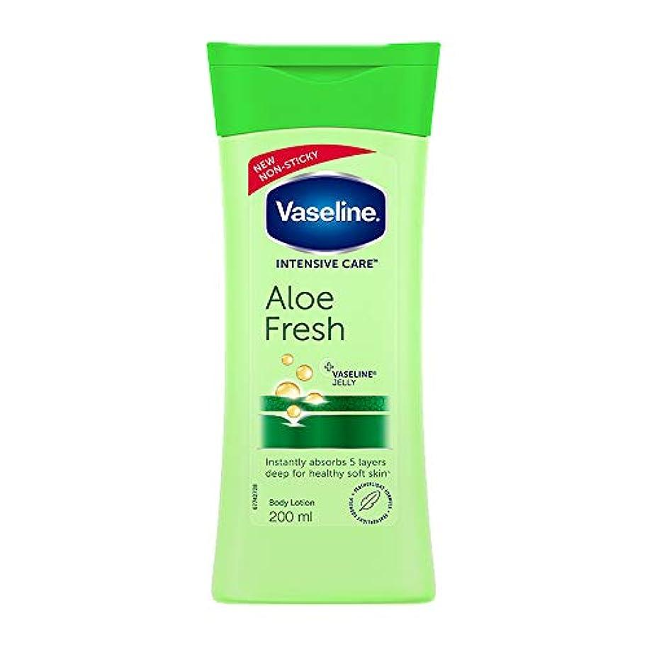 観点読みやすい推進力Vaseline Intensive Care Aloe Fresh Body Lotion, 200 ml