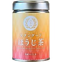 スタンダードほうじ茶 STANDARD ROASTED GREEN TEA[浅煎りほうじ茶]リーフ缶入り(40G)カフェインひかえめ。香ばしくて甘みすっきり。