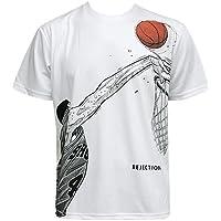 (井上雄彦 オフィシャルグッズ) SLAMDUNK スラムダンク Tシャツ 赤木 REJECTION Tee Wht バスケットボール