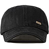 MKJNBH Men's Cotton Baseball Caps Letter Embroidery Fashion Hat Adjustable Size Women's Ponytail Tongue