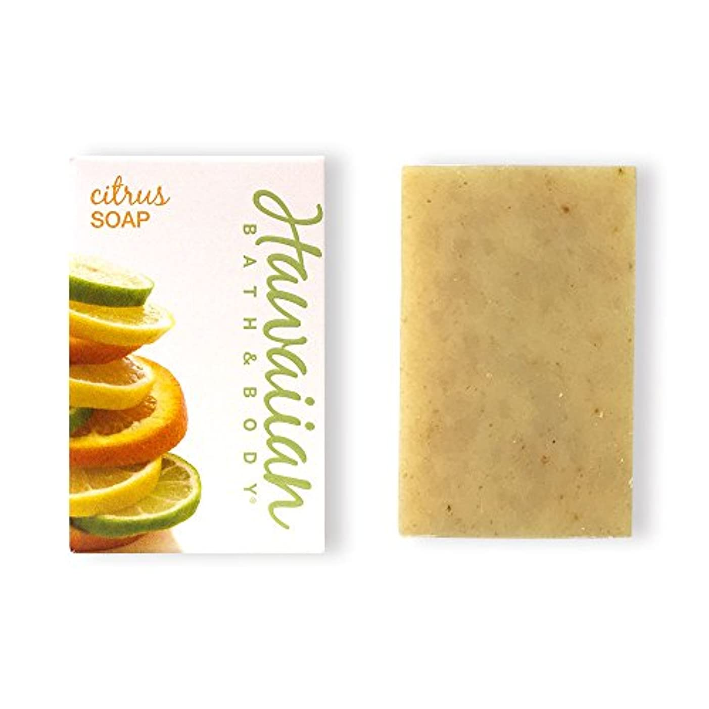 その前投薬スリルハワイアンバス&ボディ ハワイアン?シトラスソープ( Citrus Soap )