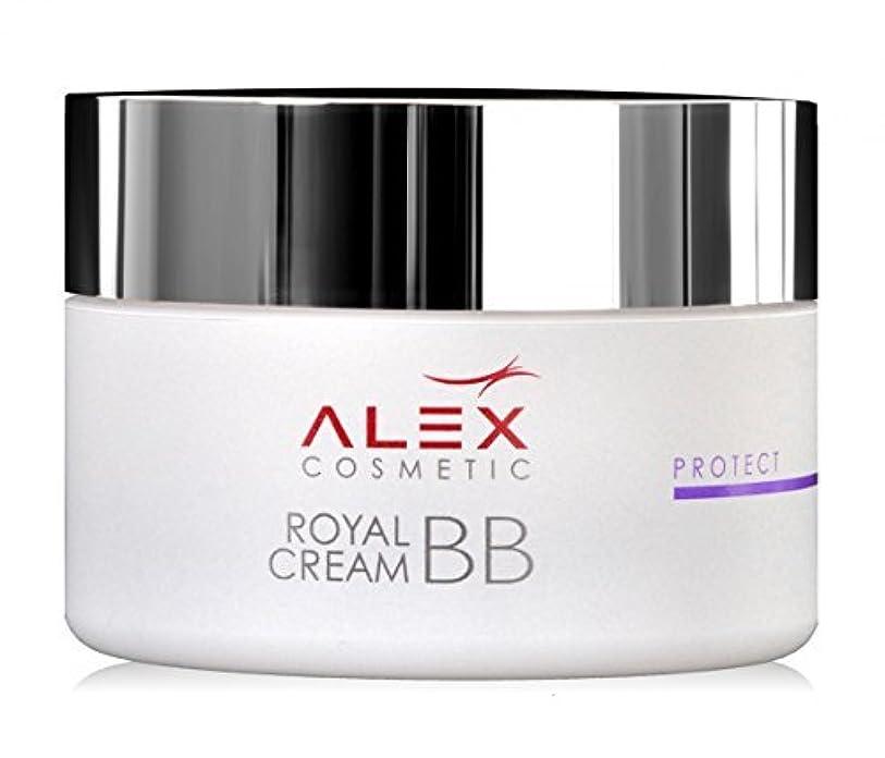 インキュバス造船妥協Royal Bb Cream Jar, 50ml By Alex Cosmetic by Alex Cosmetic [並行輸入品]