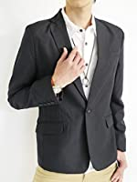 (モノマート) MONO-MART スプリング テーラード ジャケット テイラード JKT ブレザー きれい目 モード ビジネス デザイナーズ スリム カラー メンズ