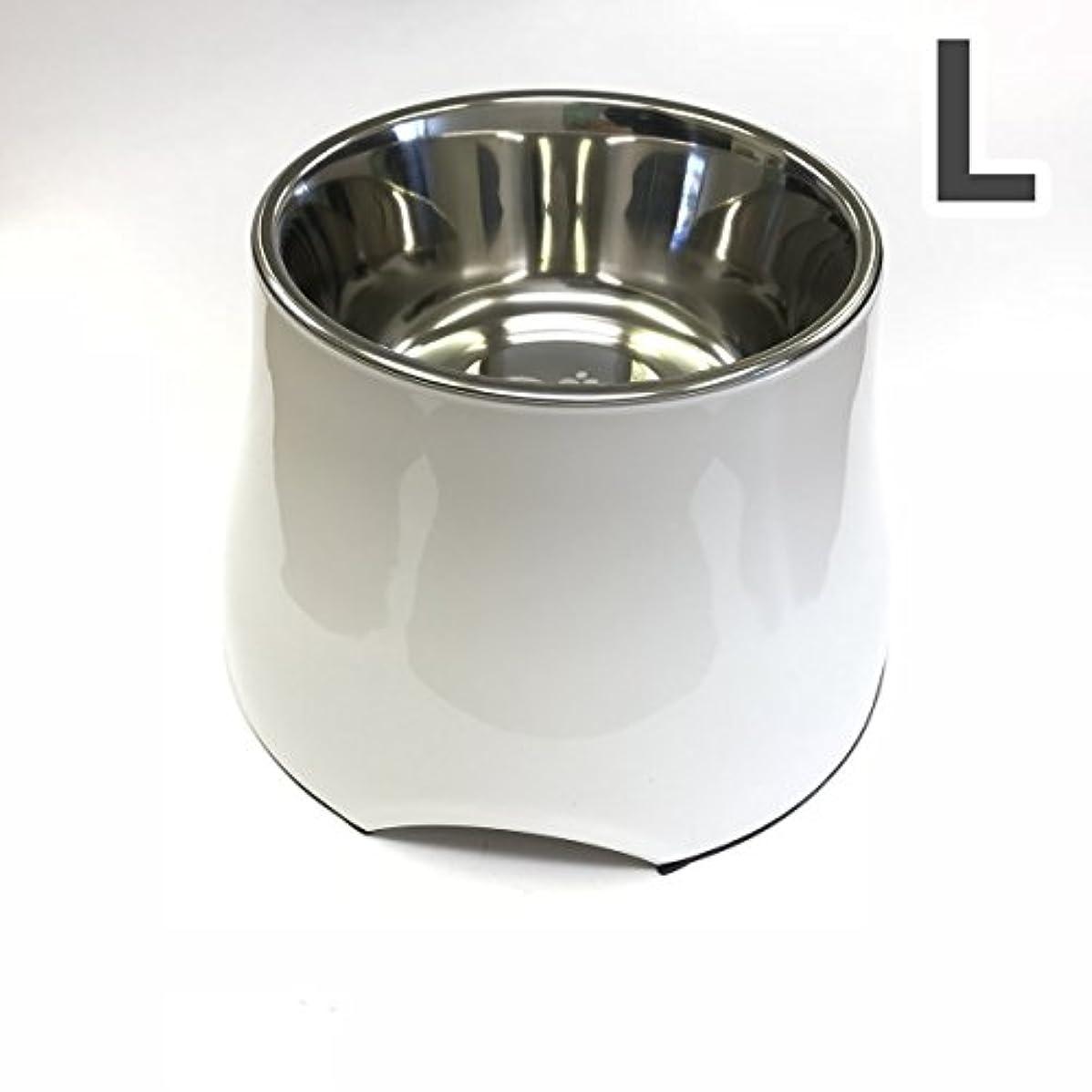 トムキャット [食器]ソリッドカラー ラウンドボウル L ホワイト