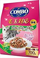 ミオコンボ 毛玉対応 かつお味・かつおチップ・小魚添え 700g×12袋