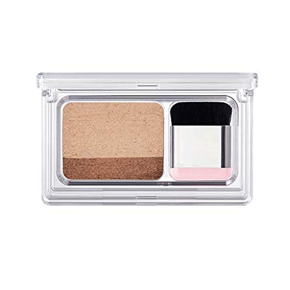 窓を洗うマインド捨てるGOOD lask 2色パールアイシャドウ、防水性と防汗性、持ち運びが簡単、明るい目、アイシャドウパウダー、レインボーきらめき化粧、美容色アイシャドウ、初心者に適して (A)