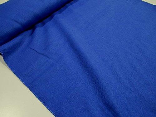 ワイド巾カラーリネン無地 ブルー青  |W巾|広巾|生地|布...